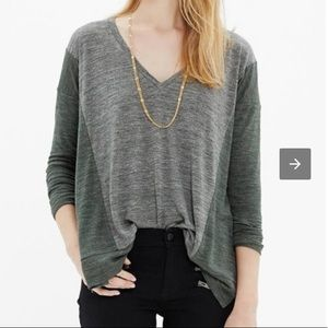 Madewell All Around Colorblock Top Slouch Oversize
